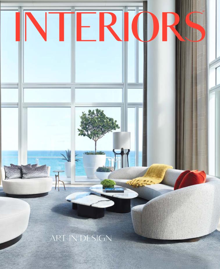 interiors magazine April-may 2021