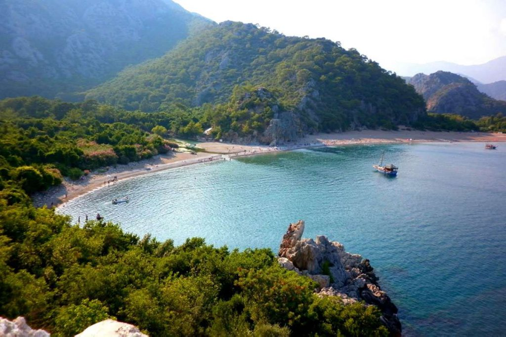 Olympos Beach turkey best places to visit in europe summer 2021 travel