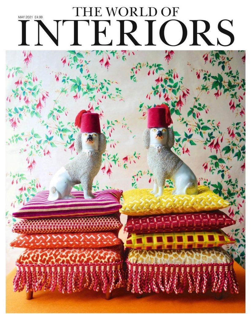 best interior design magazines the world of interiors magazine may 2021 cover