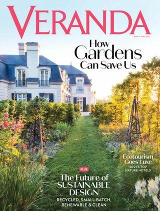 home decorating inspiration veranda magazine cover april 2021
