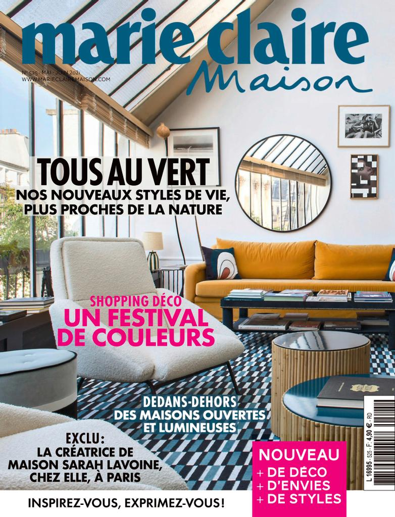 marie claire maison cover may june 2021 top interior design magazines france