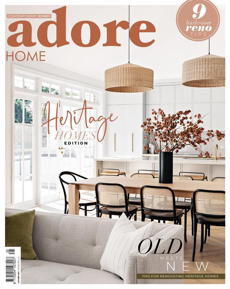 adore home magazine top interior design magazines australia