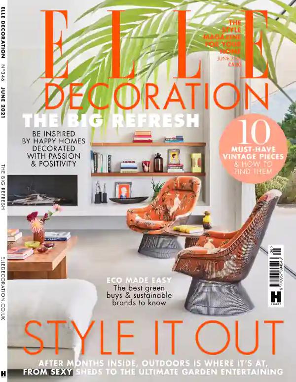 elle decoration june 2021 top interior design magazines best