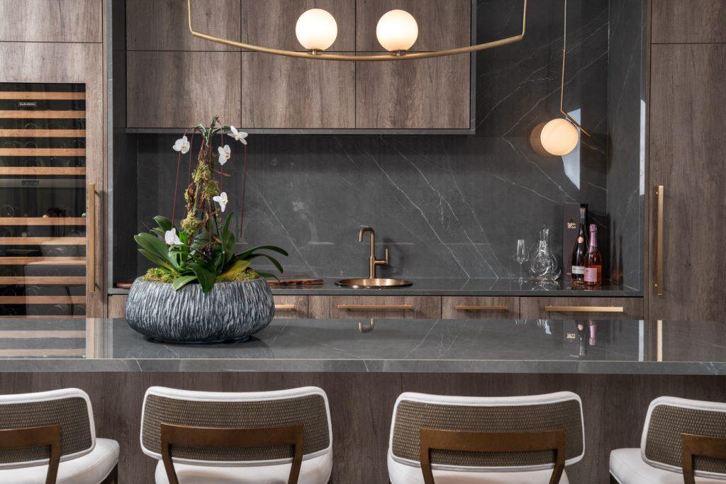 luxury kitchen Interior design by ONE X ONE DESIGN