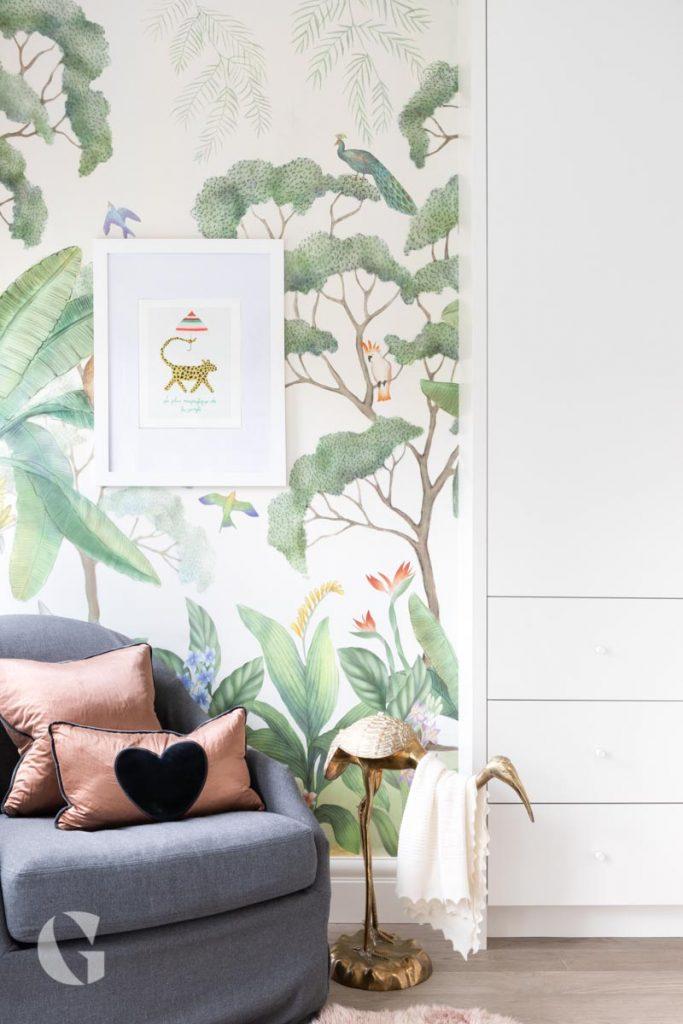 Gillian Segal Design jungle nursery room ideas corner