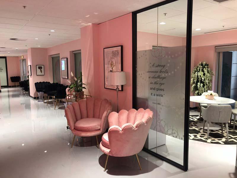 No1 Fertility, Melbourne office decor custom designed by Cocolea