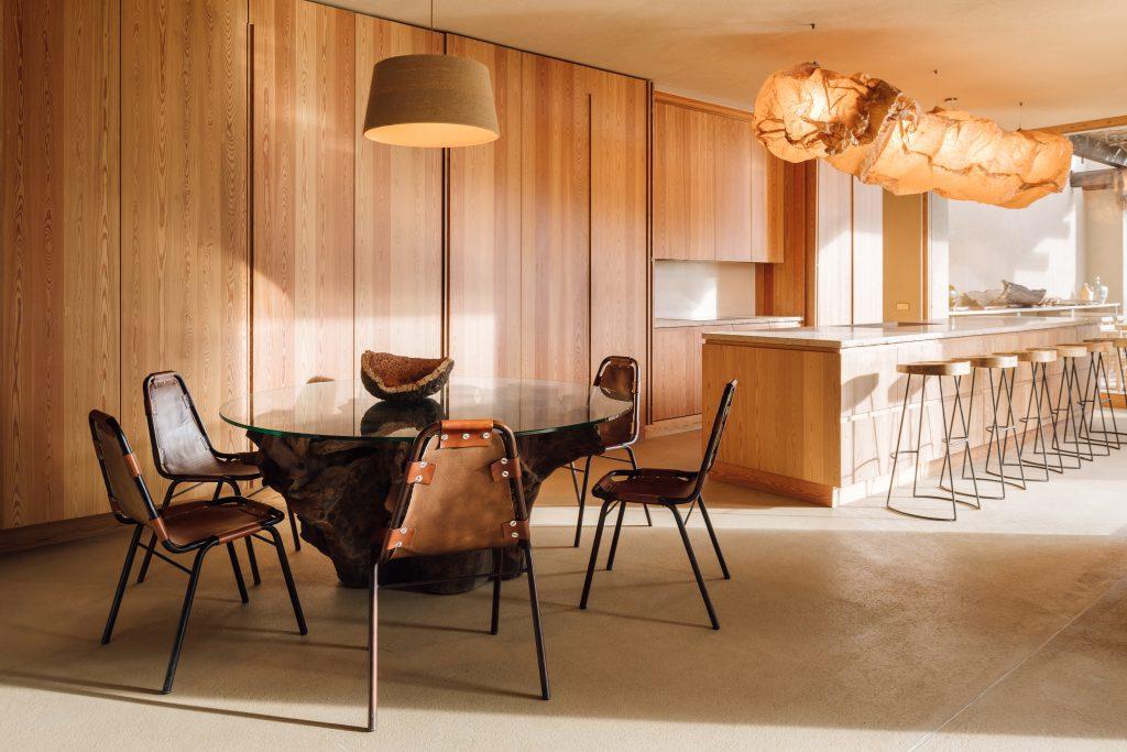Melides Art kitchen dining room nature inspired design wood