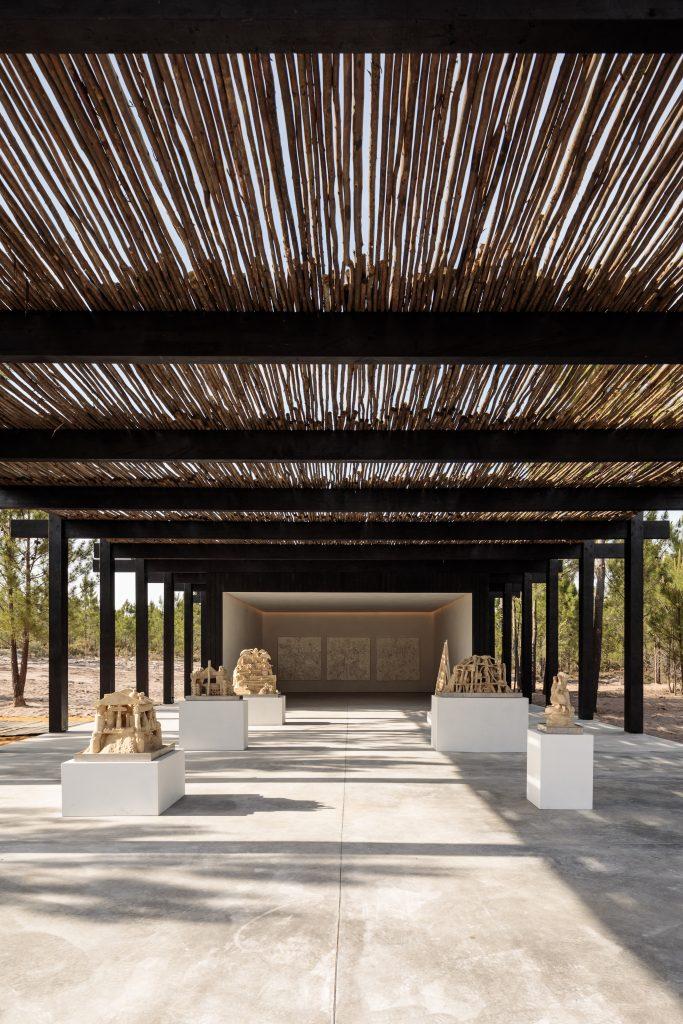 An Art Pavilion at Melides Art