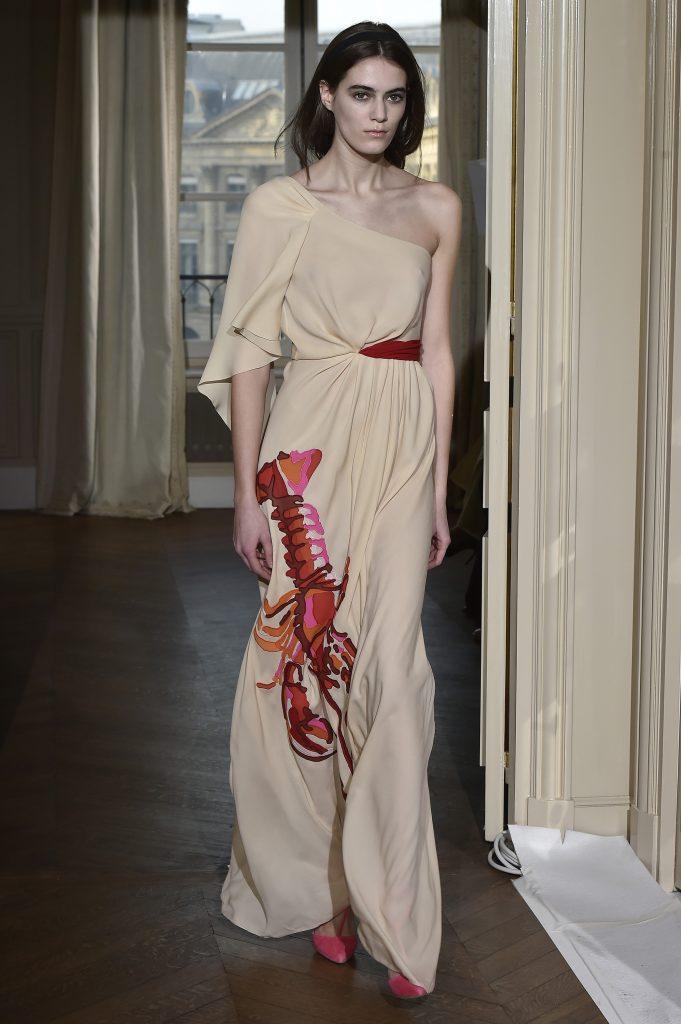 spring summer 2017 haute couture Lobster Dress Schiaparelli Dali 1937 unusual design collaborations