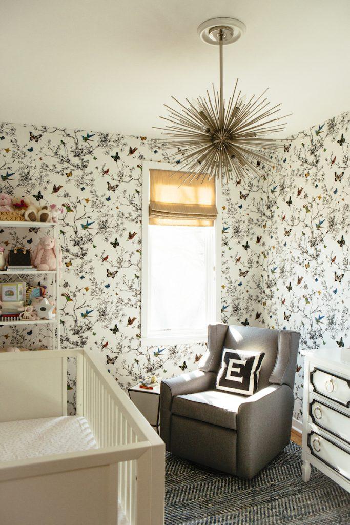 nursery theme ideas alexandra kaehler enchanted forest wallpaper