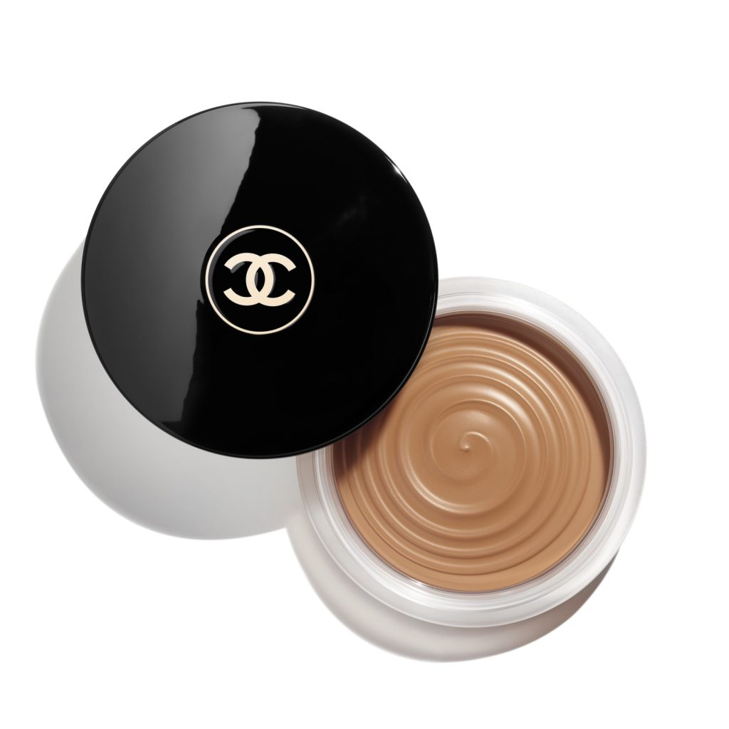 high-end makeup full face looks Chanel Les Beiges Healthy Glow Bronzing Cream, $50