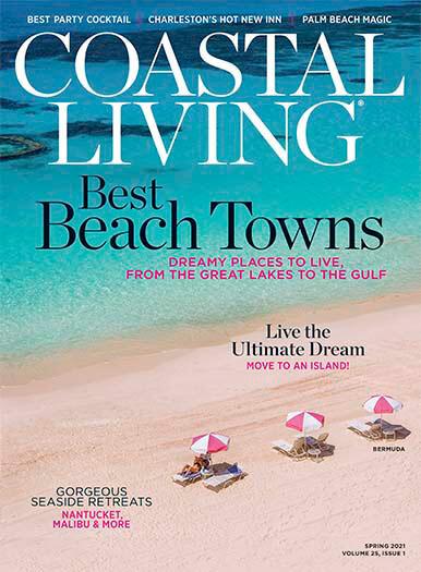 coastal living magzines