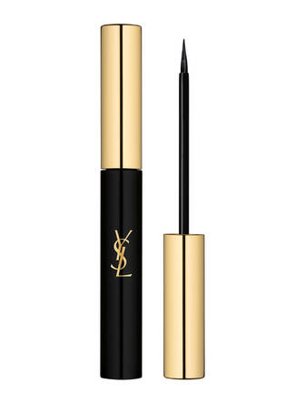 high-end makeup full face looks Yves Saint Laurent Couture Eyeliner, $34