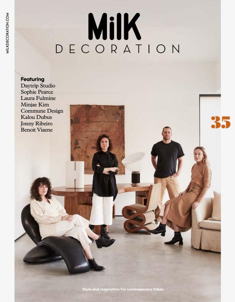 milk decoration magazine