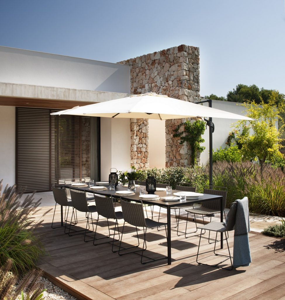 Holiday Home in Majorca designed by Thomas Griem of TG Studio with gardens designed by Stephen Woodhams (Photo by Philip Vile)