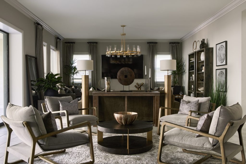 luxury neutral living room design by Twenty-Eighth Design Studio (Photo by Madeline Tolle)