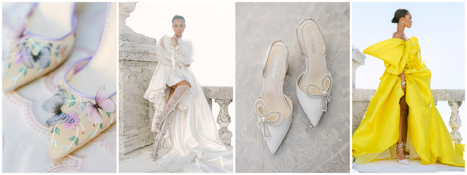 Details from the Bella Belle luxury shoe brand