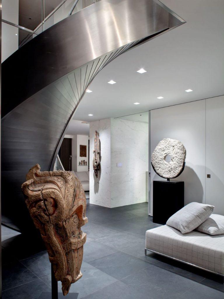 ora studio nyc sutton place south staircase hallway photo richard cadan