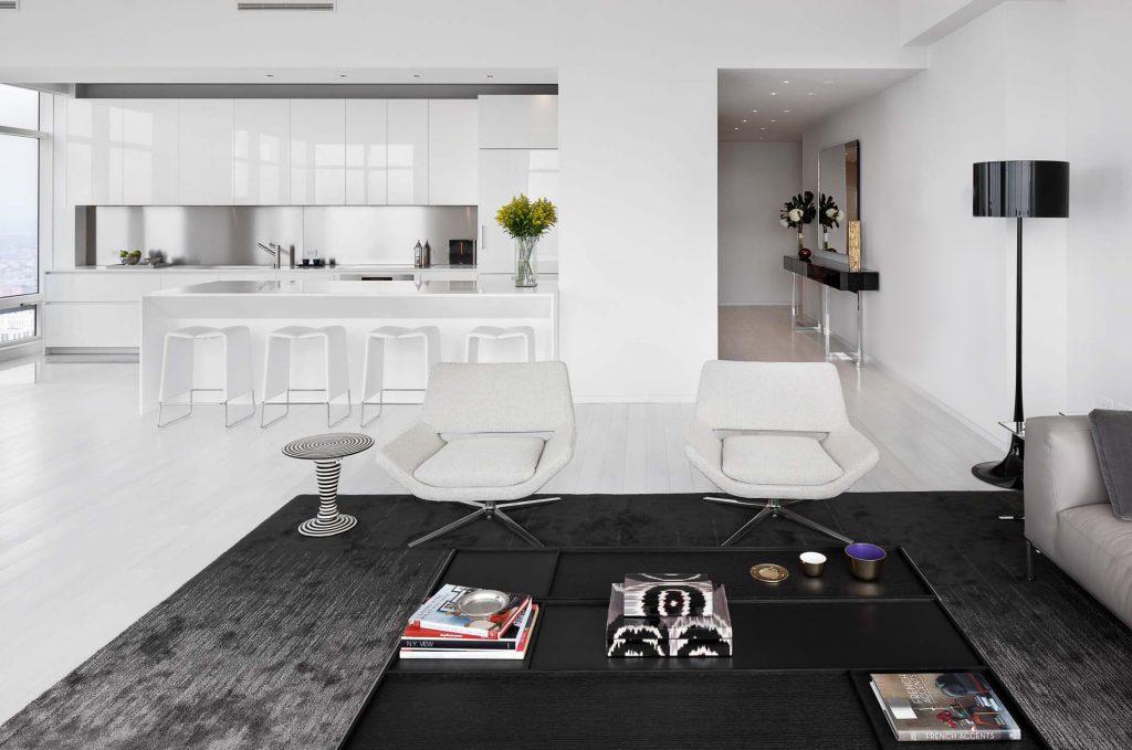ora studio nyc by giusi mastro kitchen and living room lexington avenue photo richard cadan