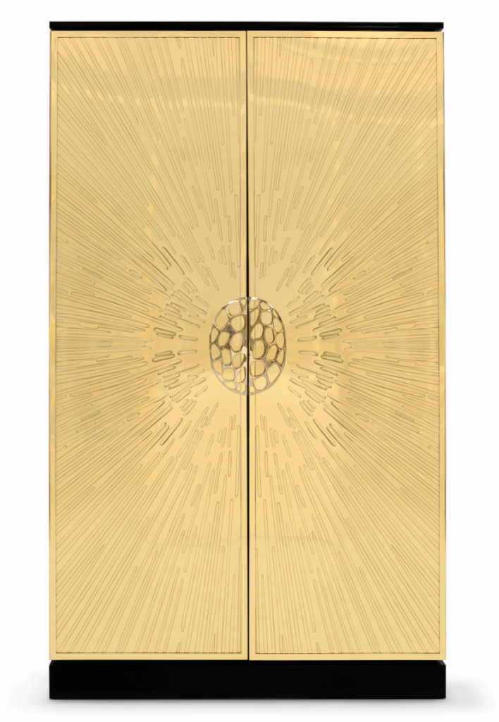 heive armoire koket gold cabinet luxury furniture