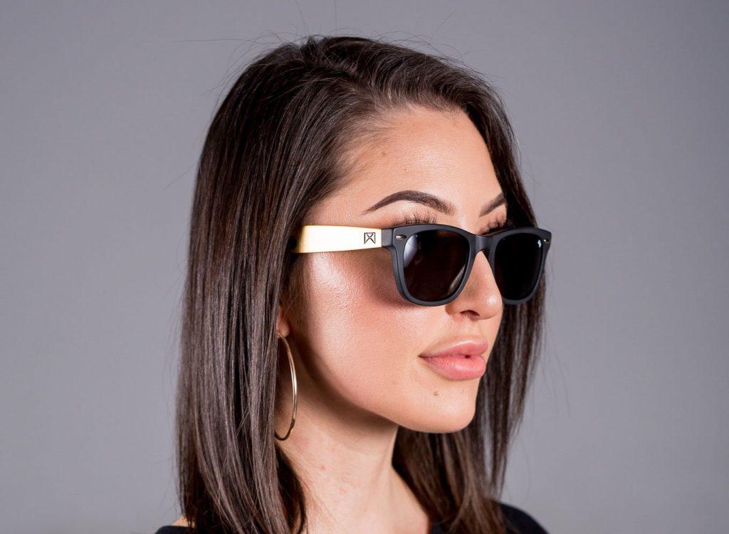 The Gold Hook Titanium William Painter Sunglasses