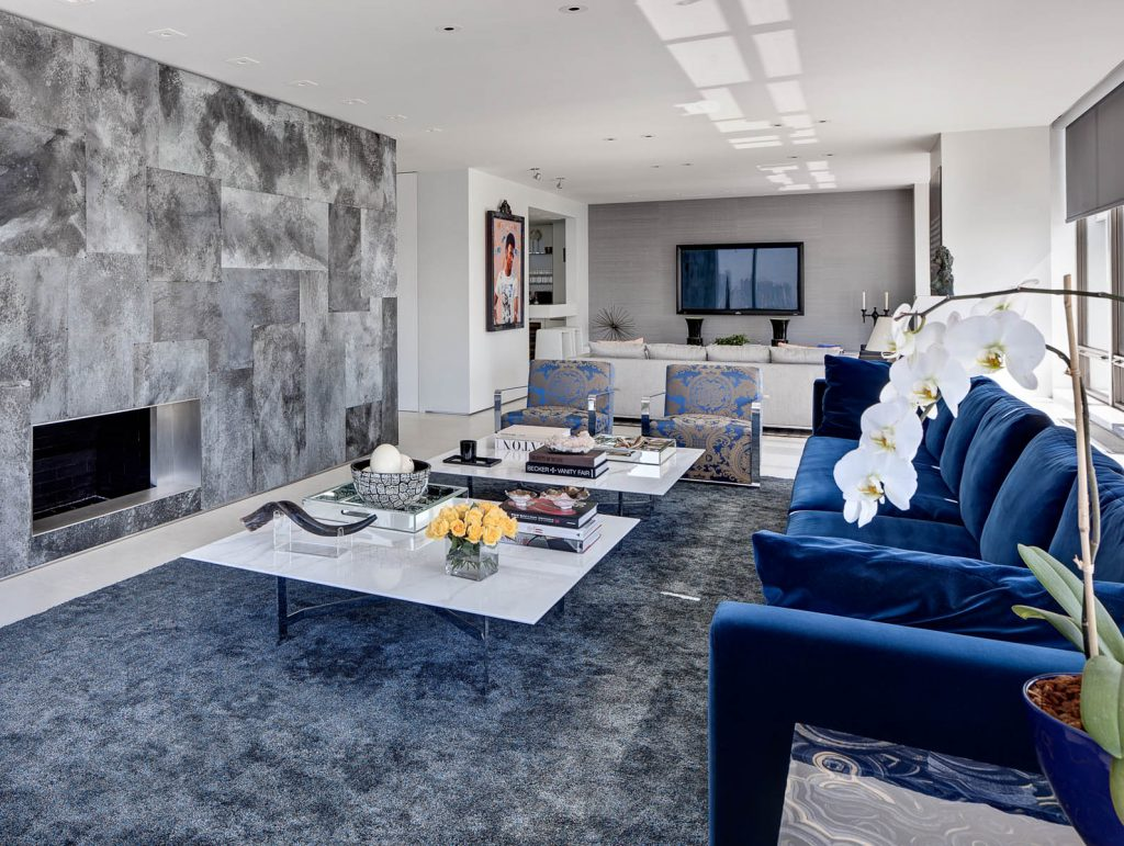 blue couches ora studio nyc living room