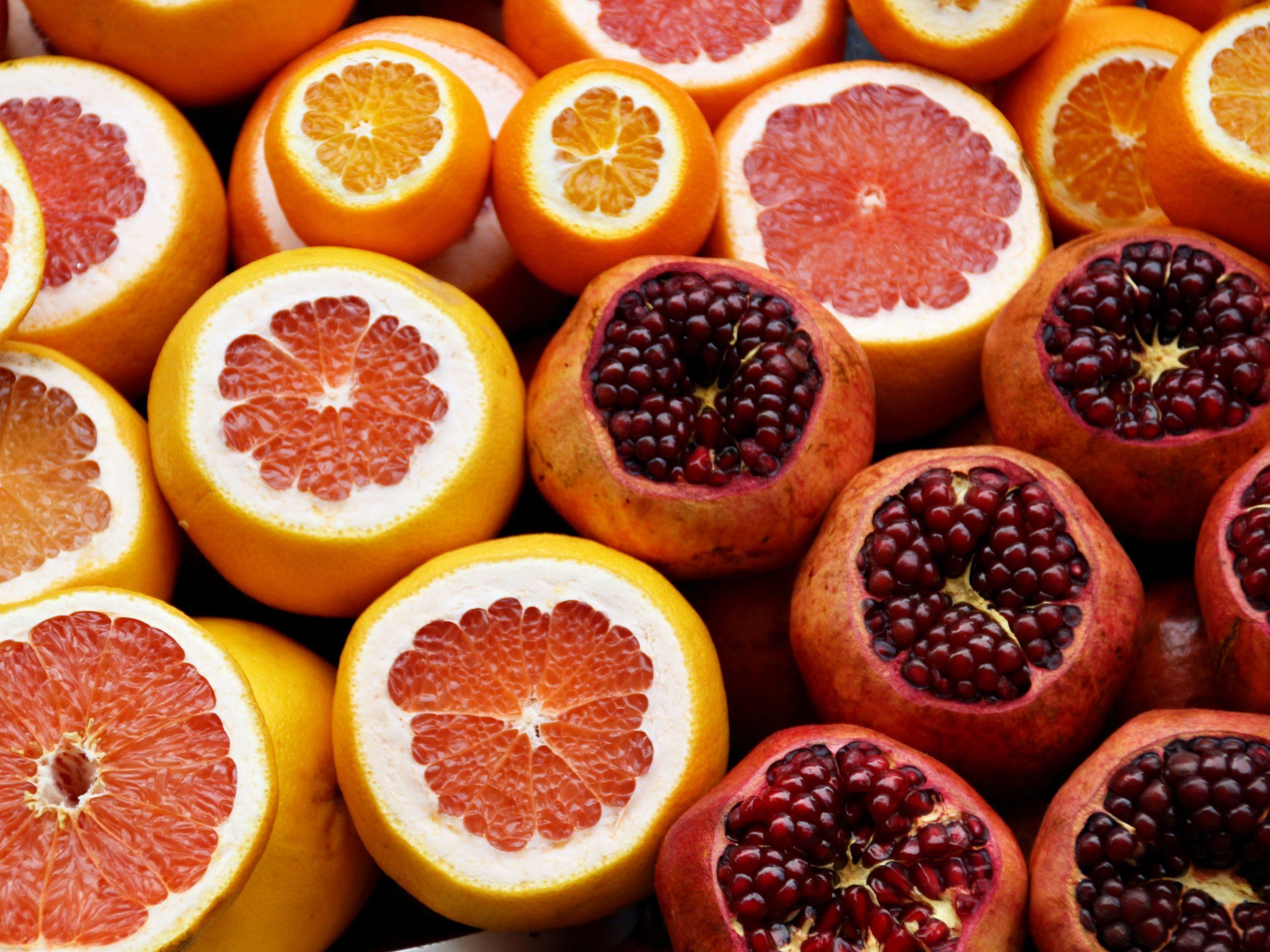 natural pink food coloring pomegranate beet orange juice grapefruit