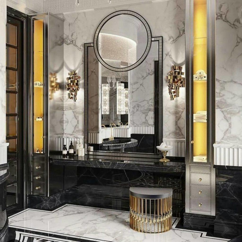 wow factors koket bathroom mandy stool ribbon sconce