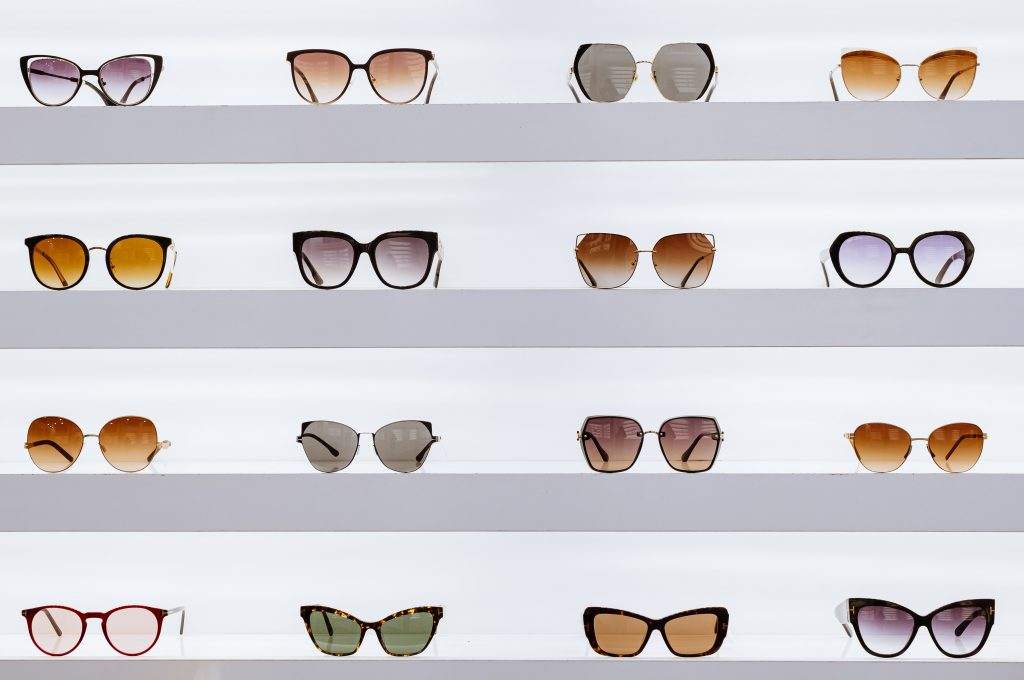 finding your audrey hepburn sunglasses