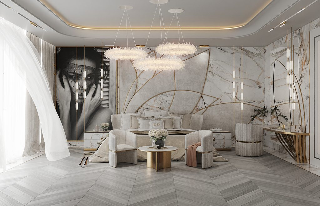 Carolines Design luxury bedroom