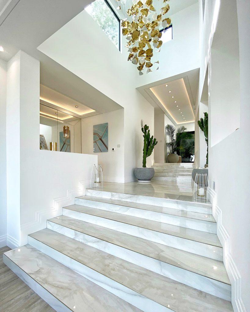 marble staircase luxury interior design