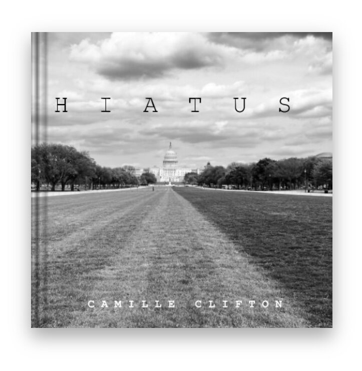 hiatus covid 19 relief book camille clifton black and white photography dc