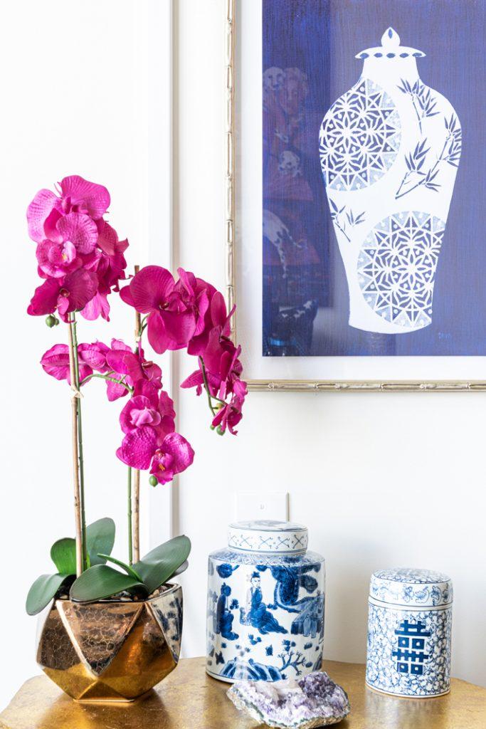 orchids and asian art camille clifton pompadour dc