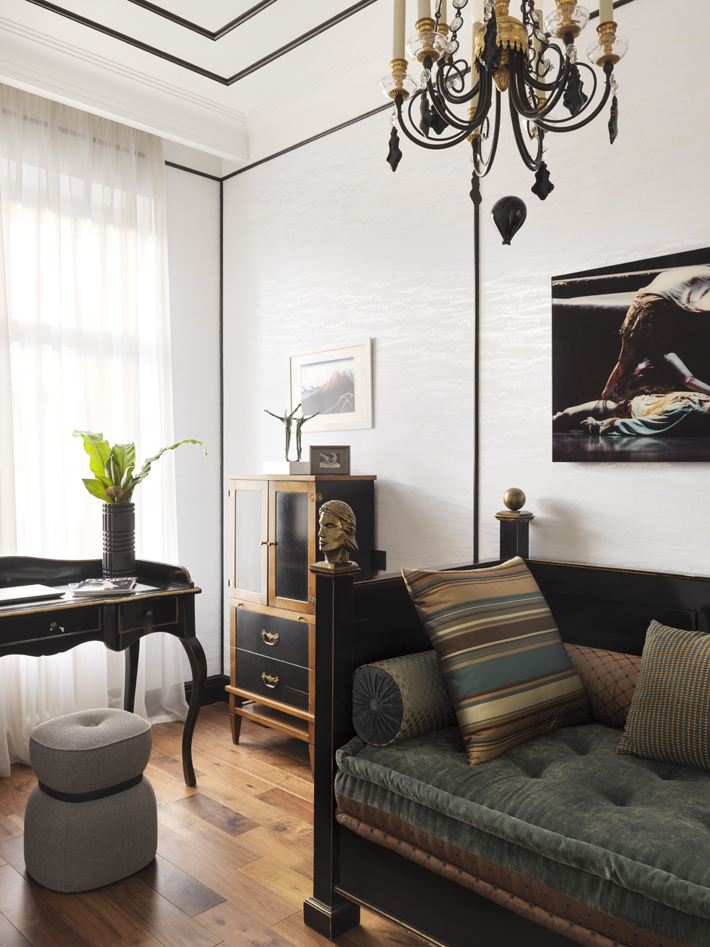 home office design modern eclectic