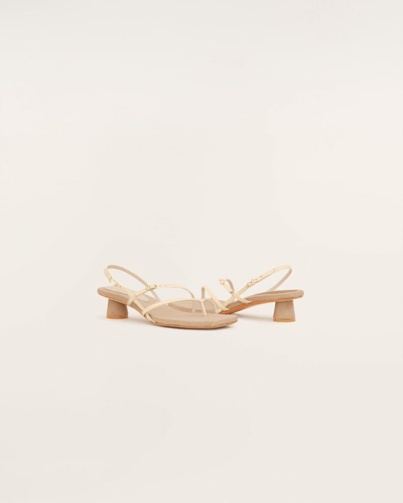kitty heel Les Sandales Basgia by Jacquemus
