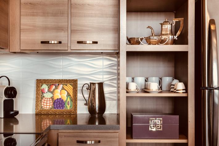modern kitchen Interior design by Pompadour DC