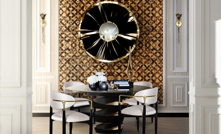 decorating your walls at home koket dining room with feather wallpaper wallcovering