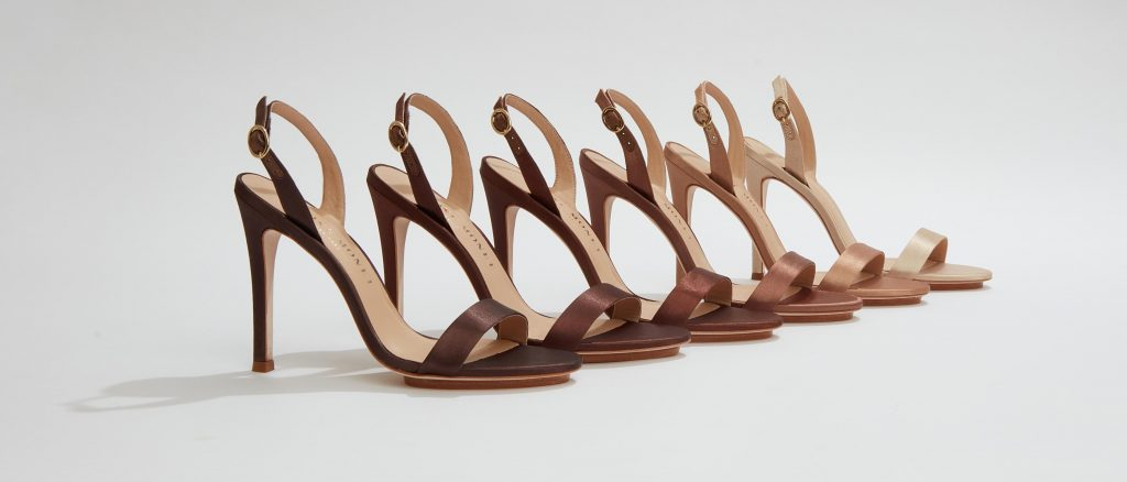 Fashion Savvy Women Entrepreneurs NUDE IS NOT A COLOR™ Sandals by Salone Monet