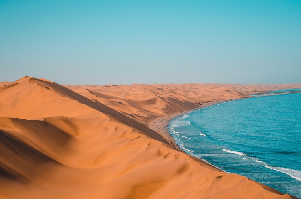 best private vacation spots Sandwich Harbour, Namibia (Photo by Sergi Ferrete)