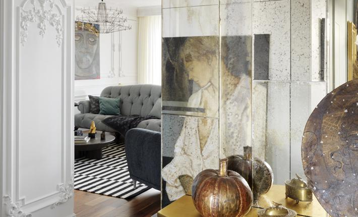 living room interior design luxury st. petersburg russia apartment vadim maltsev design