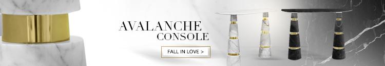 avalanche marble table koket luxury furniture