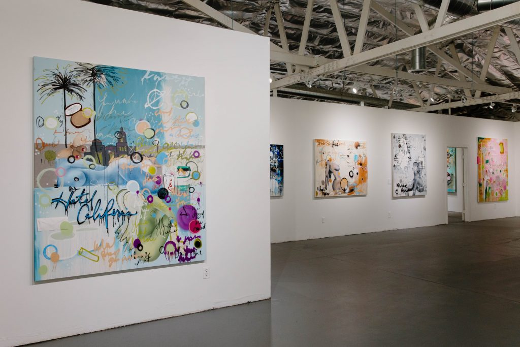 'Lawless Reflections' Exhibition by Lindsay Dawn at ARUSHI in Los Angeles