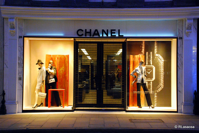 most searched makeup brand Chanel Boutique London (Photo by Rufino Lasaosa)