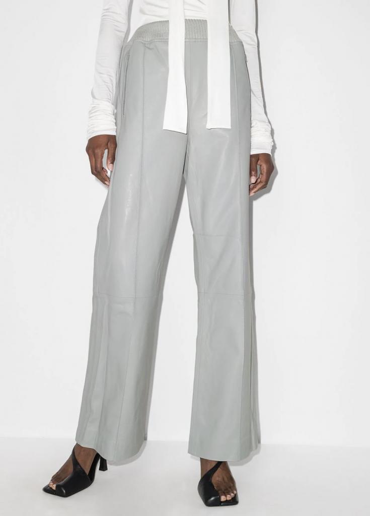 dodo bar or toto leather trousers farfetch fall 2021 fashion colors