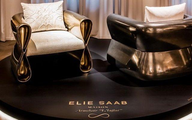 luxury home brands milan elie saab maison chairs milan design week 2021