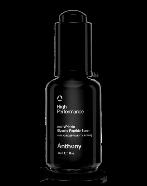 high performance anti-wrinkle anthony glycolic peptide serum