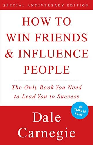 self-help books college age students How to Win Friends and Influence People by Dale Carnegie