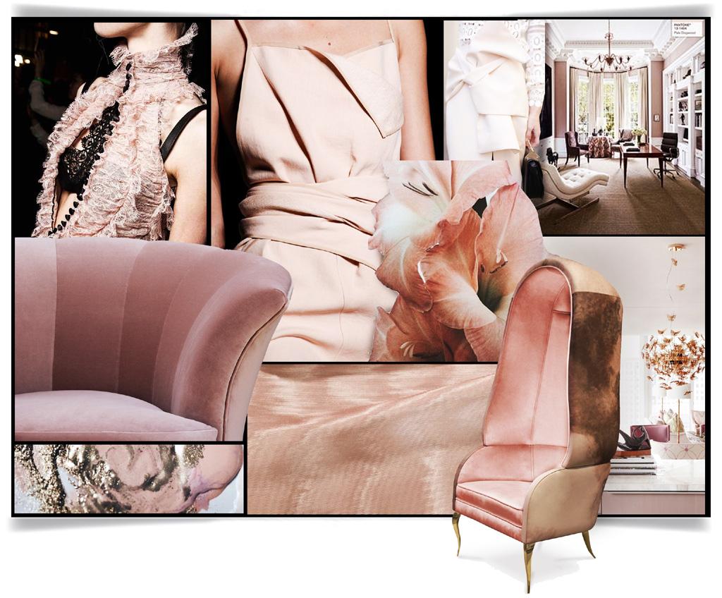 pale pink pantone fall winter 20201 color trends koket moodboard
