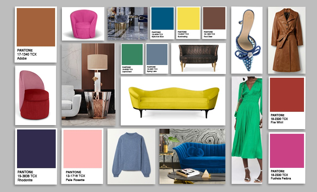 color trends fashion and home Pantone NYFW 2021 - 2022