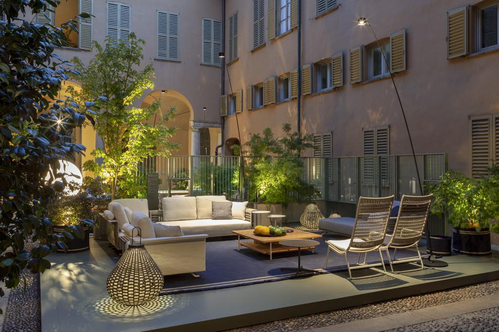 milan design week 2021 Poltrona Frau Milan Showroom_Solaria and Sparkler Collections 1